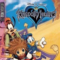 Cubierta del volumen 2 del manga de <i>Kingdom Hearts</i>