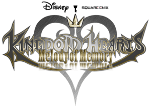 Kingdom Hearts Melody of Memory Logo KHMoM