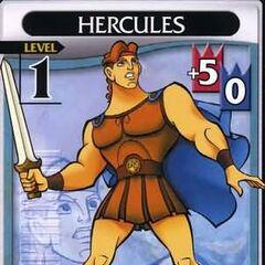 Hércules Nivel 1 en el TCG