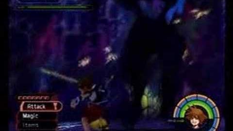 Kingdom Hearts Darkside Third Battle