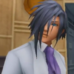 Ienzo Adulto en Kingdom Hearts 3D: Dream Drop Distance