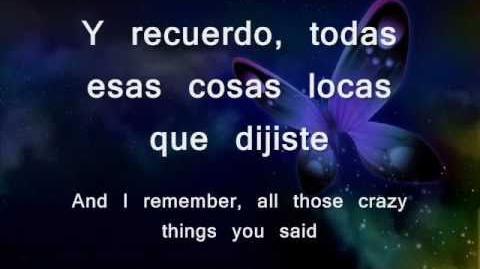 Avril Lavigne - Wish You Were Here Lyrics (Español e Inglés )