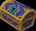 Coffre bleu Colisée de l'Olympe