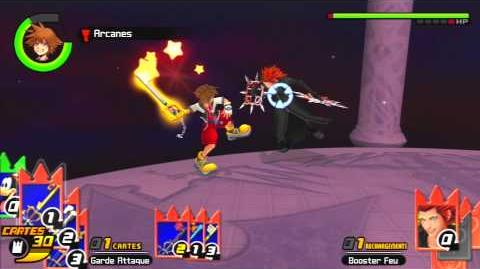 Kingdom Hearts Re Chain of Memories Combat contre Axel 2