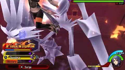 Kingdom Hearts Birth by Sleep - Hades & Ice Colossus - Aqua Critical Mode