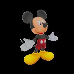 El Rey Mickey con su ropa de <i><a href=