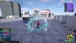 Sora using waterza