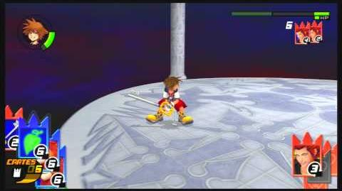 Kingdom Hearts Re Chain of Memories Combat contre Axel