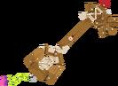 Moogle's Wooden Keyblade KHX