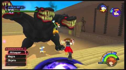 Kingdom Hearts -HD 1.5 ReMIX- Combat contre Cerbère