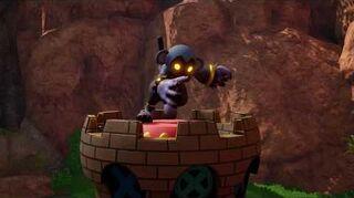 Kingdom Hearts III Critique Combat contre le Char du chaos