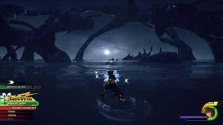 Kingdom Hearts III Expert Combat contre Anti-Aqua