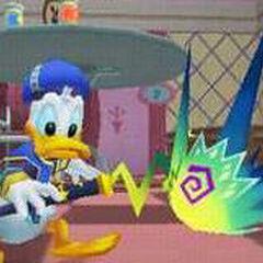 Donald en el <a href=