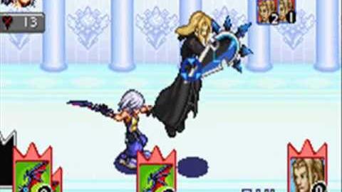 GBA Kingdom Hearts Chain of Memories Reverse Rebirth Vexen