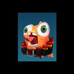 Kamikaze: Cuando este personaje es lanzado por Xkkryb explota de manera cómica.