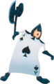 Card Spades KH