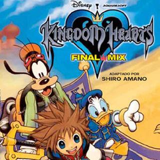 Cubierta española del volumen 2 del manga de <i>Kingdom Hearts Final Mix</i>
