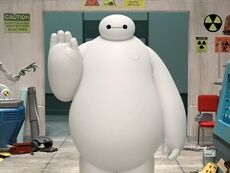 Baymax en Big Hero 6