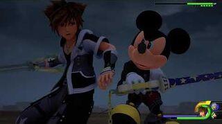 Kingdom Hearts III Re Mind Combat contre Ansem, Xemnas et le Jeune Xehanort