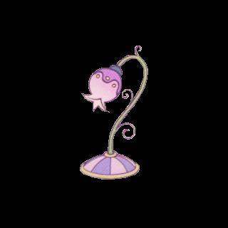 La segunda lámpara apagada