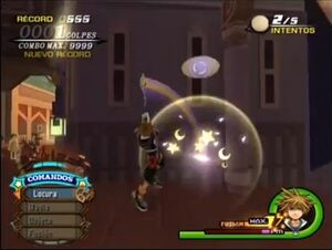 Fanfarronería Sora KH2