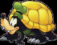 Goofy- Tortoise Form (Art) KHII