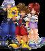 Sora, Riku et Kairi 1.5