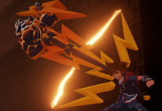 Transformación de la llave espada Zeus KHIII