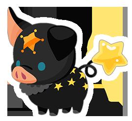 Black Pigstar (Spirit) KHUX