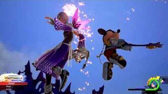 Kingdom Hearts 0.2 Birth by Sleep vs Demon Tide Final Boss