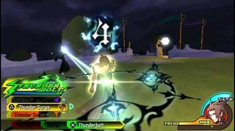 Kingdom Hearts Birth By Sleep - Secret Boss Mysterious Figure - Terra 1080P