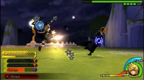 USA KH Birth By Sleep ~ Mysterious Figure Battle Ventus - Critical Mode