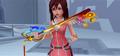 Kairi with her Keyblade KHII.PNG