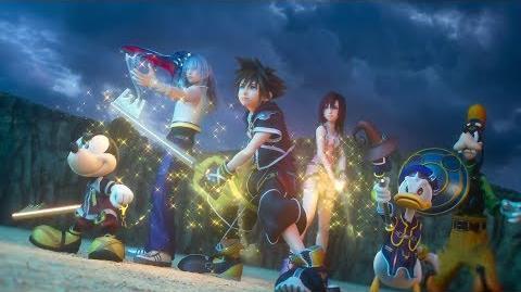 Clear Arrow/Disponible el tema musical de apertura de Kingdom Hearts III