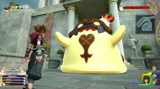 Kingdom Hearts III Mini-jeu Flan à la cerise