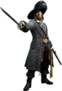 Captain Barbossa KHIII