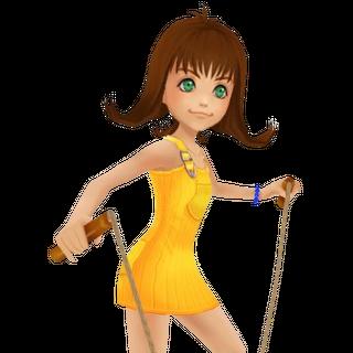 Selphie en <i>Kingdom Hearts</i>.