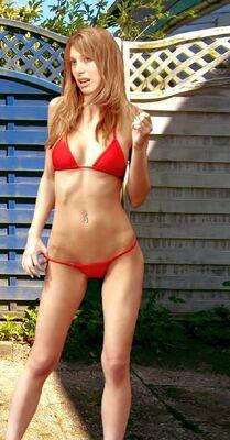 Sandra W Pain88 Bikini03