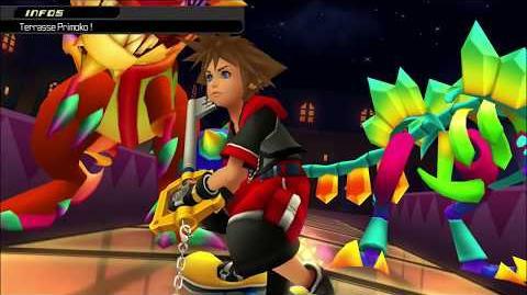 Kingdom Hearts 3D Dream Drop Distance HD Combat contre Primoko (Sora)
