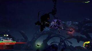 Kingdom Hearts III Critique Combat contre Anti-Aqua