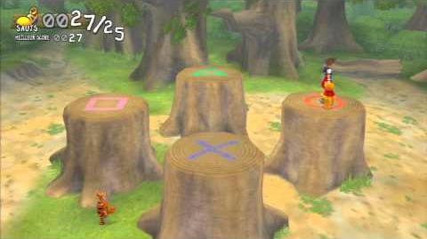 Kingdom Hearts Re Chain of Memories Défi bondissant de Tigrou