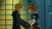 Roxas & Sora (Screenshot) KH3D