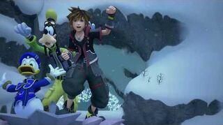 Kingdom Hearts III Luge alpine (trophée Champion des neiges)