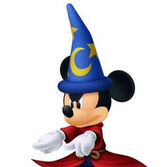 Rey Mickey en <a href=