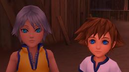KH BBS Young Sora and Riku Screenshot