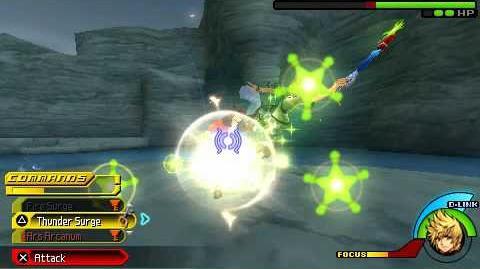 Kingdom Hearts Birth by Sleep - Captain Hook - Ventus Critical Mode