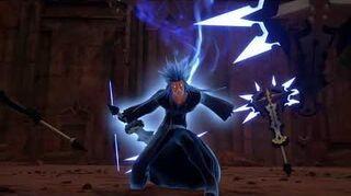 Kingdom Hearts III Expert Combat contre Saïx et Xion