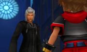 Sora Conversing Young Xehanort KH3D