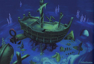 Atlantica- Sunken Ship (Art) KH