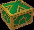 Coffre vert Colisée de l'Olympe
